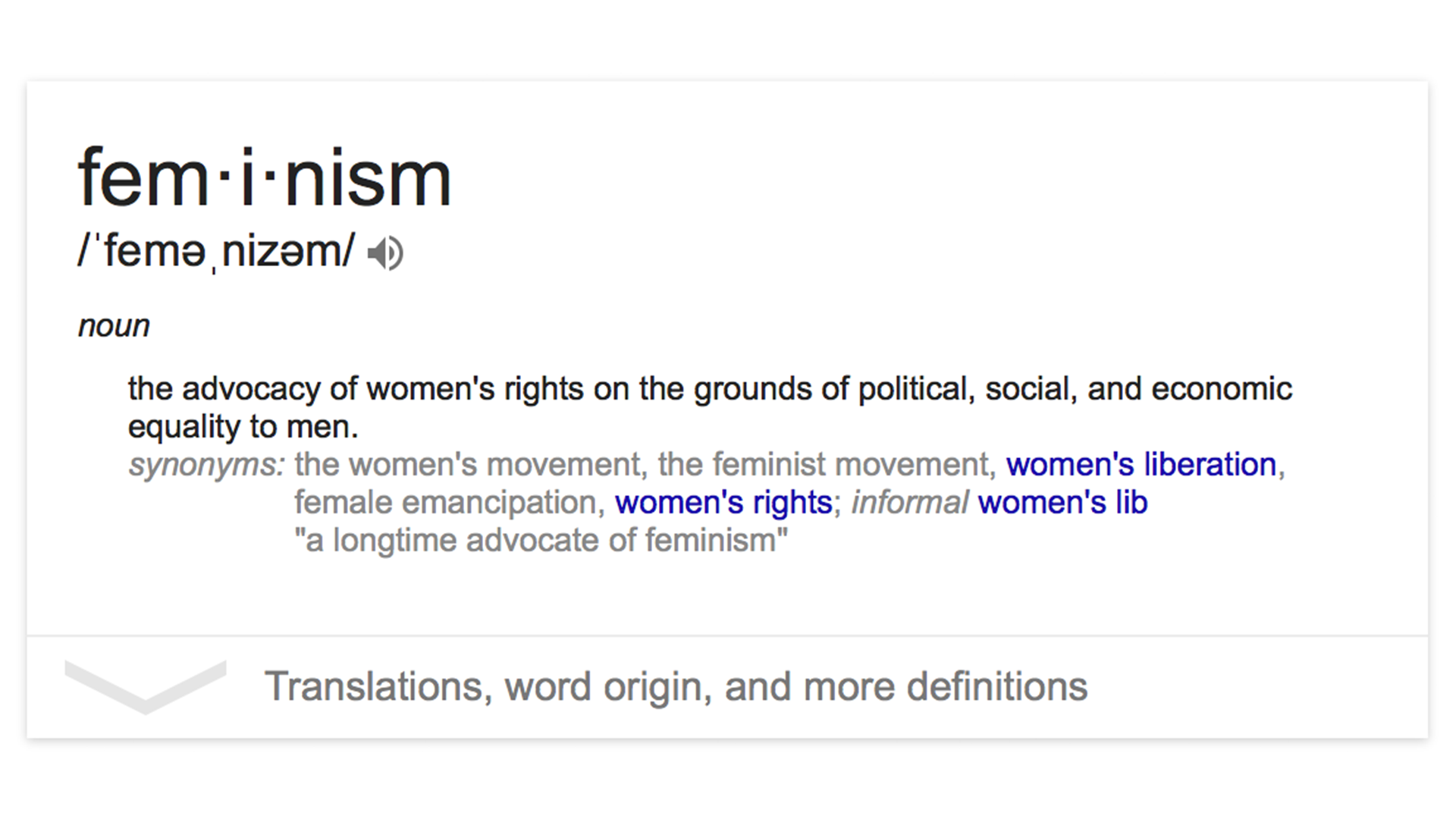 By Definition Feminism Is Simply The Belief In Gender Equality, So Why  Canu0027t Everyone Just Agree With It?