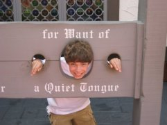 My brother at Busch Gardens in Fall 2009 where we found the perfect home for him.