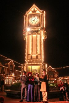 """Big Ben"" in England with carolers in 2011."
