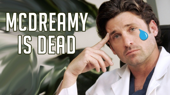McDreamy is Dead 1