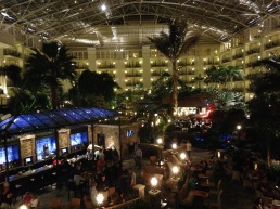 The Gaylord Opryland where it's more beautiful inside than out!