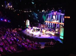 The Grand Ole Opry! It looks and sounds beautifully amazing!