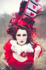 A fancy looking Red Queen/Queen of Hearts