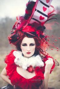 A fancy looking Red Queen/Queen of Hearts
