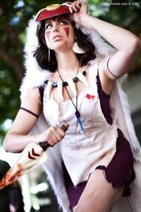 Princess Mononoke. So many people have done amazing cosplays of her!