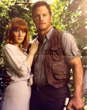 Claire and Owen from Jurassic World.