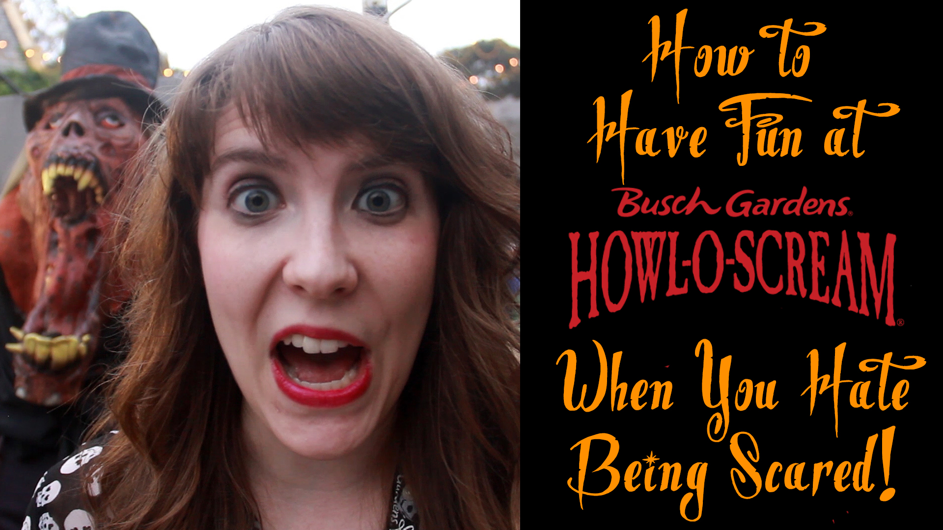 How to Have Fun at Busch Gardens Howl O Scream When You Hate