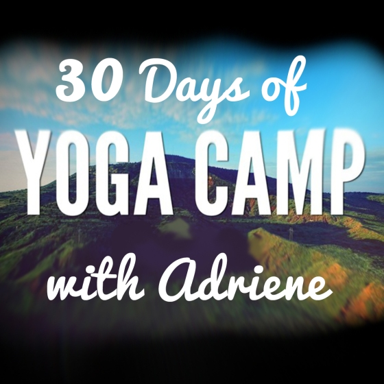 30 Days of Yoga Camp with Adriene! | Imagining Happenings