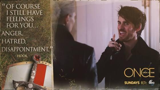 "Hook's ""Feelings"" for Emma"