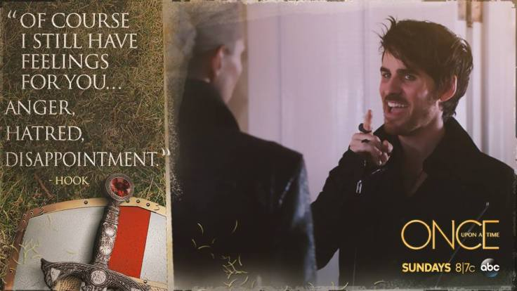 "Hook's ""Feelings"" for Emma"