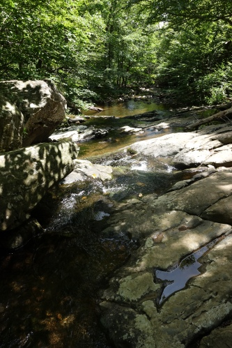 Another angle of view #1 from hiking White Oak Canyon Falls