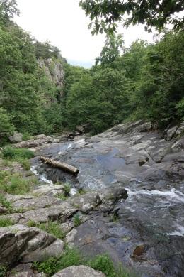 View #2 from hiking White Oak Canyon Falls