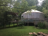 The yurt!